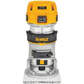 "DEWALT D26200 110vRouter / Trimmer - 1/4"" collet 900 Watt Variable speed Plunge depth: 55mm Removable motor & housing"