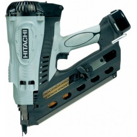 HIKOKI NR90GC2 GasFirst fix nailer 2 x 1.5Ah Li-ion batteries and charger Single speed Nail size: 50 - 90mm Anti dry fire Carry case