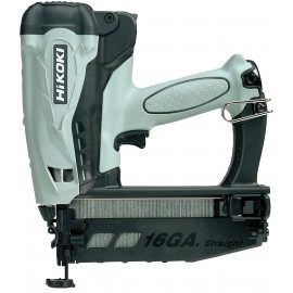HIKOKI NT65GS GasSecond fix nailer 2 x 1.5Ah Li-ion batteries and charger Single speed Nail size: 25 - 65mm Anti dry fire Depth control