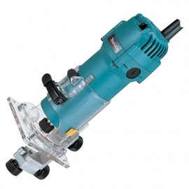 "MAKITA 3707F 240vRouter / Trimmer - 1/4"" collet 440 Watt"