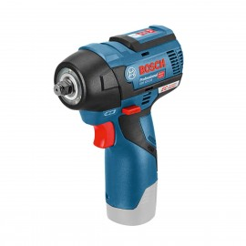"""BOSCH GDS 12V-115 BODY 12vImpact wrench - 3/8"""" square drive Body only - No battery, charger or case Variable speed Max torque: 115Nm Brushless motor"""