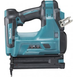 MAKITA DBN500ZJ 18vBrad nailer Body only - No battery, charger or case Shots per charge: 1000 Brad range: 15-50mm Weight: 3.5kg
