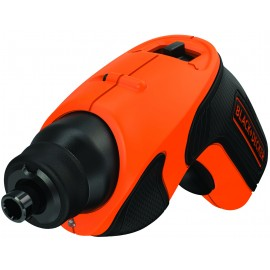 """BLACK & DECKER CS3651LC 3.6vScrewdriver - 1/4"""" hex drive 1 x li-ion battery and charger built in Single speed Max torque: 5Nm"""