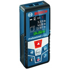 BOSCH GLM 50 C AAA batteriesLaser range finder 2 x AAA batteries Range: 50m Bluetooth enabled connection