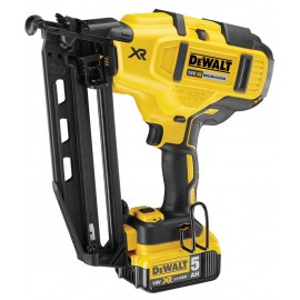 DEWALT DCN660P2 18vSecond fix nailer 2 x 5.0Ah Li-ion batteries and charger Nail size: 32 - 63mm Brushless motor Tough system case