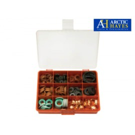 Arctic Hayes FRWKIT Plumber's Essential Washer Kit, 210 Piece