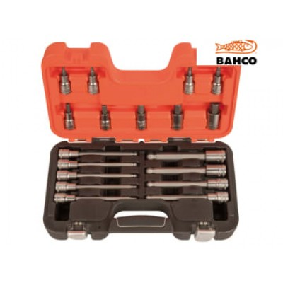 Bahco S18HEX S18HEX 1/2in Drive Socket Set of 18 Metric