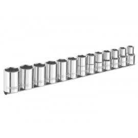 Britool E031803B Socket Set of 13 A/F 3/8in Drive