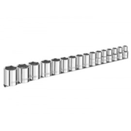 Britool E032902B Socket Set of 16 Metric 1/2in Drive