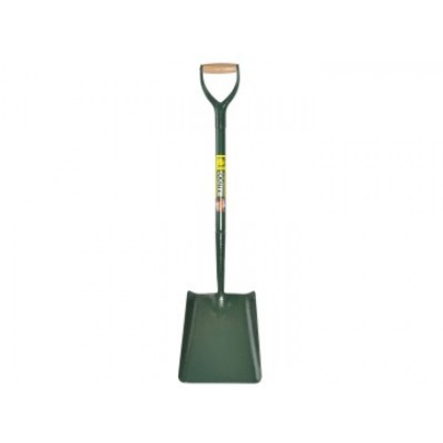 Bulldog 5SM2AM All-Steel Square Shovel No.2 5SM2AM