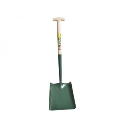 Bulldog 5SM2T Solid Socket Square Shovel T-Handle