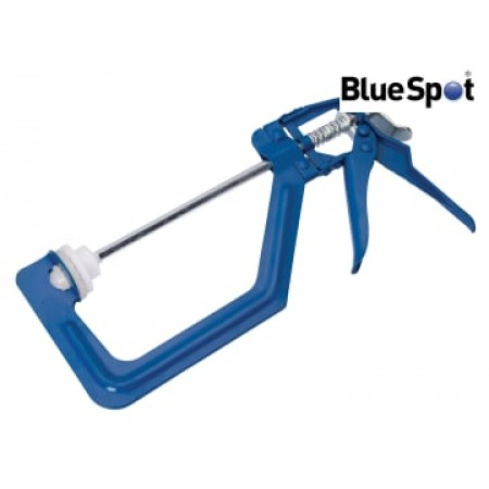 Bluespot 10023 One-Handed Ratchet Clamp 150mm (6in)