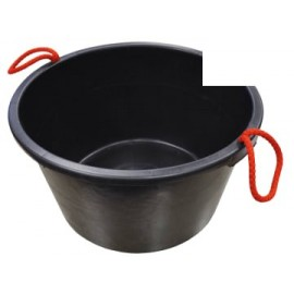 Faithfull 40LBUCKET Builder's Bucket 40 litre (9 Gall) - Black