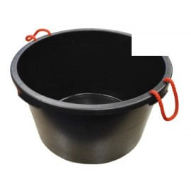 Faithfull 65LBUCKET Builder's Bucket 65 litre (14 Gall) - Black