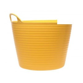 Faithfull FLEX42Y Flex Tub 42 litre - Yellow