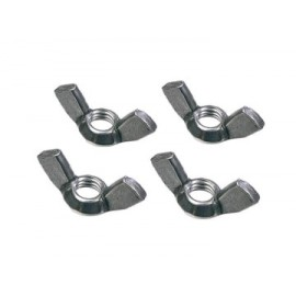 Faithfull PROEXTWN External Building Profile Wing Nuts (Pack of 4)
