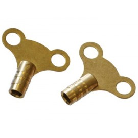 Faithfull RADKEY Radiator Keys - Brass (Pack of 2)