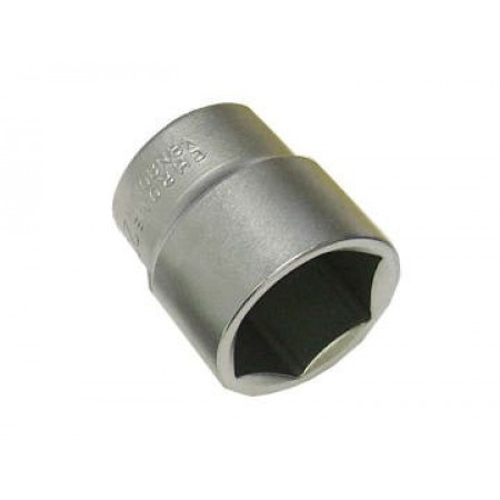 Faithfull SOC1222 Hexagon Socket 1/2in Drive 22mm
