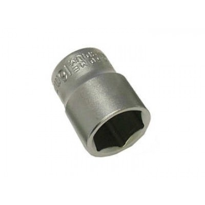 Faithfull SOC3823 Hexagon Socket 3/8in Drive 23mm