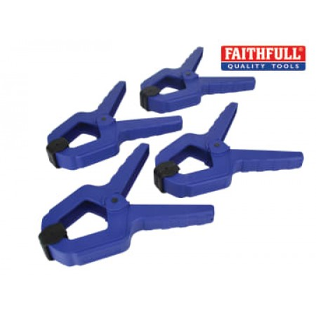 Faithfull SPCL2 Spring Clamp 50mm (2in) (Pack 4)