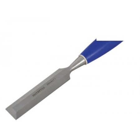 Faithfull WCB1 Bevel Edge Chisel Blue Grip 25mm (1 in)