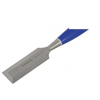 Faithfull WCB112 Bevel Edge Chisel Blue Grip 38mm (1.1/2in)