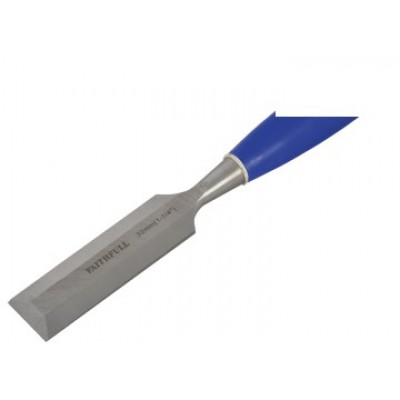 Faithfull WCB114 Bevel Edge Chisel Blue Grip 32mm (1.1/4in)