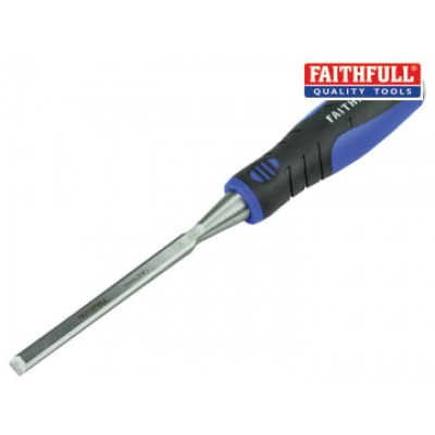 Faithfull WCSG10 Soft Grip Bevel Edge Chisel 10mm (3/8in)