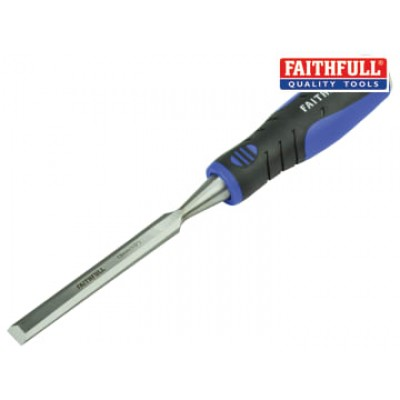 Faithfull WCSG12 Soft Grip Bevel Edge Chisel 13mm (1/2in)