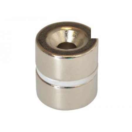 E-Magnets 314 314 Countersunk Magnets (2) 20mm Polarity: North