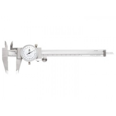 Moore & Wright 14115 Dial Caliper White Face 0-150mm