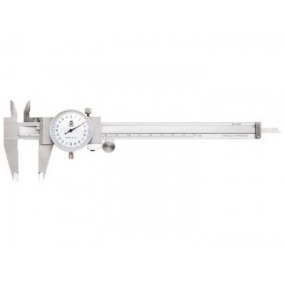 Moore & Wright 14115I Dial Caliper White Face 0-6in