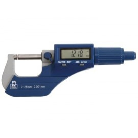 Moore & Wright 20001DBL MW200-01DBL Digital External Micrometer 0-25mm/0-1in 0.001mm/.00005in