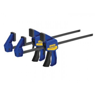Irwin 54122QCN Mini Bar Clamp Twin Pack 300mm (12in)