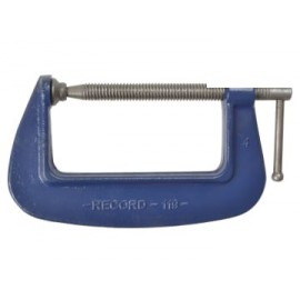Irwin 1196 119 Medium-Duty Forged G-Clamp 150mm (6in)