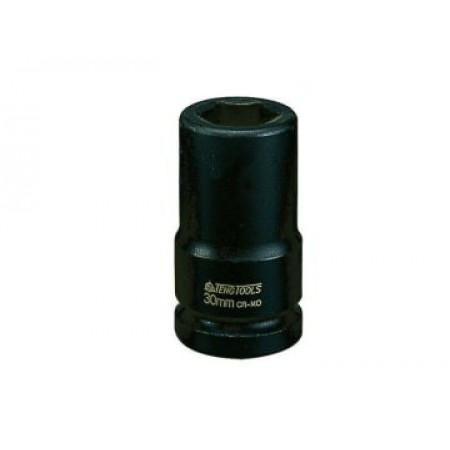 Teng 940627 Deep Impact Socket Hexagon 6-Point 3/4in Drive 27mm
