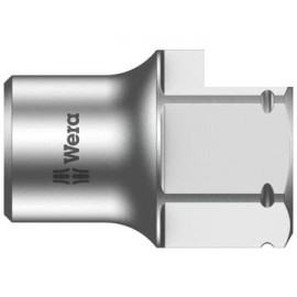 Wera 003684 8790 FA Zyklop Shallow Socket 1/4in Drive 12mm